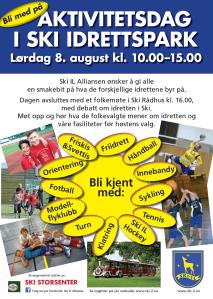 Aktivitetsdag i Idrettsparken 2015