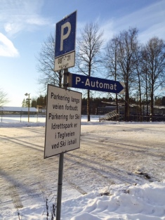 Parkeringsskilt nr 2 - jan 2016