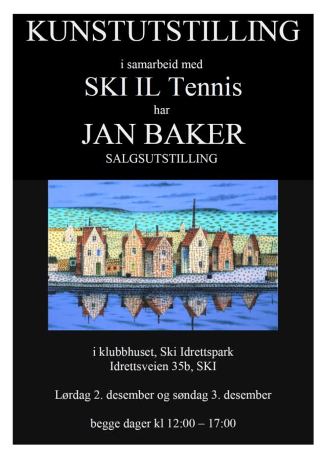 Jan Baker utstilling 2.3-12.2017
