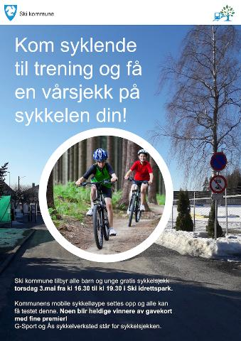 Sykkeløsjekk 030518